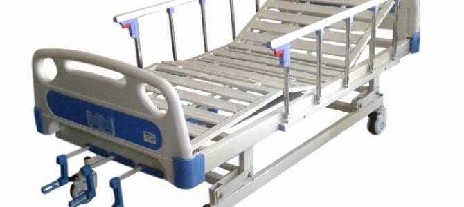 Cama hospitalaria de 3 movimientos
